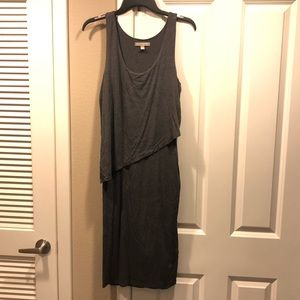 Banana Republic gray dress